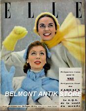 Elle n°417 - 1953 - Pataski et Pataska - Robe demoiselle d'honneur - Publicités