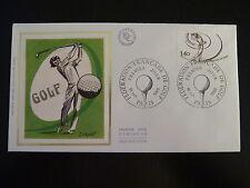 FRANCE PREMIER JOUR FDC YVERT 2105   LE GOLF   1,40F   PARIS 1980