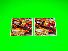 MONSTER JAM CAPTAINS CURSE MONSTER TRUCK STICKERS DECALS #2