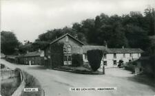 REAL PHOTOGRAPHIC POSTCARD OF THE RED LION HOTEL, ARMATHWAITE, CUMBERLAND