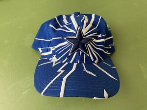 Vintage 90s Dallas Cowboys Snapback Hat Collision Baseball Cap Jersey Starter