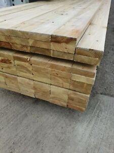 47 x 100mm Regularised Kiln Dried Tannalised Treated Decking Joist 4.8mtr