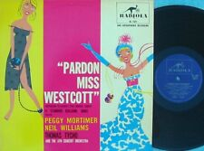 Pardon Miss Westcott OZ Reissue OST LP NM AWA Radiola RL1501 Thomas Tycho