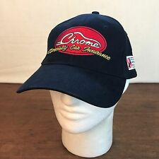 Mens Black Chrome Specialty Car Insurance NSRA Natl Street Rod Assoc Hat