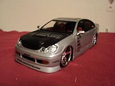 Jada  LEXUS GS 430 1:24 Scale Import Racer  No Longer Produced,new no box silver