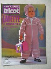 Votre magazine Tricot Layette et enfants de la naissance à 5 ans  H.S /S12