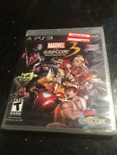 Marvel vs. Capcom 3: Fate of Two Worlds PlayStation 3  Brand New Factory Sealed