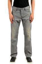 "Hugo Boss ""Orange24"" Men's Gray Stretch Straight Leg Jeans US 33/30 IT 33/30"