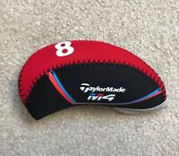 10PCS Black&Red Quality Neoprene Taylormade M4 Golf Club Iron Covers HeadCovers