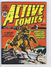 Active Comics #10 Bell Features Canadian Edition
