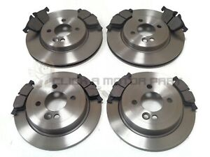 MINI ONE & COOPER S 1.6 R50 R53 2001-2006 FRONT & REAR BRAKE DISCS AND PADS NEW