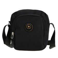 Womens Mens Waterproof Nylon Sports Shoulder Bag Handbag Satchel Crossbody Bags