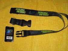 NFL Carolina Panthers Black Breakaway Lanyard Key chain