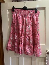 Girls Floral Skirt Age 13-14 Years