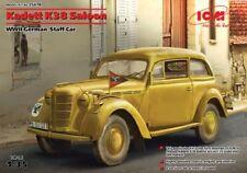 ICM 1/35 KADETT K38 Saloon II Guerra Mundial Alemán Bastón coche #35478
