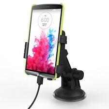 For LG Phones: Vehicle Charging Dock Compatible with or without a slim fit case