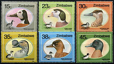 Zimbabwe 1988 SG#740-745 Wild Ducks And Geese MNH Set #D50859