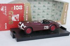 Brumm 1/43 - Jaguar XK 120 Spider Mille Miglia 1950 (ancienne boîte)