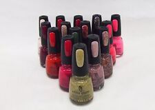 China Glaze Nail Polish Choose Assorted Colors A - Z ~ Pick 2 Colors ~ .5oz/14mL