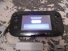 Gamepad Wii U d'origine Nintendo Noir
