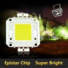 50/70/100W Brillante Foco Granos De La Lámpara COB Integrado Chip De LED