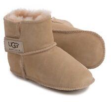 NEW UGG Erin Boot Crib Shoes Boy Girl Baby Infant Size L Large Beige Unisex