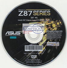 ASUS GENUINE MOTHERBOARD SUPPORT DISK Z87-WS M3150