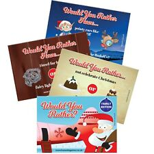 Would You Rather Christmas Game Xmas Eve Box Games Stocking Fillers Childrens