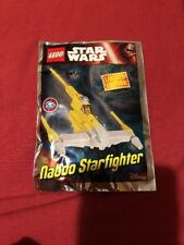 Lego Star Wars Naboo Starfighter Mini Polybag pack