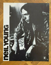 NEIL YOUNG Warner/Reprise 1970 PROMO POSTER Thick Card Stock RARE