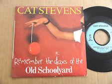 """DISQUE 45T DE CAT STEVENS  """" OLD SCHOOLYARD """""""