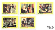 Houseboat Original Lobby Card Set of 5 - Sophia Loren - Cary Grant - 1958 - VF