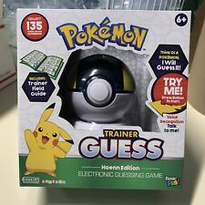 Pokemon Trainer Guess Game Hoenn Edition Zanzoon Electronic Guessing Game