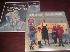 JUNE CHRISTY SOMETHING COOL CISCO RECORDS & COOL SCHOOL 180 GRAM AUDIOPHILE LPS