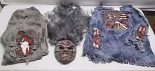 Halloween Costume Child Boy M (8-10) Medium Walking Dead Zombie Mask Shirt Pants