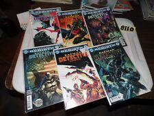 DC Rebirth Detective Comics Lot #935 936 937 938 939 and 941