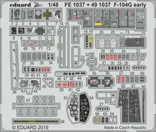 Eduard Zoom FE1037 1/48 Lockheed F-104G Starfighter early KINETIC