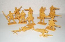 Hing Fat DGN Plastic toy soldiers 1/32 WW2 British 8th Army set. 12pcs