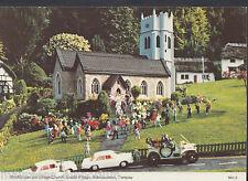 Devon Postcard - Village Church, Model Village, Babbacombe, Torquay RR644