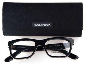 NEW D&G Dolce & Gabbana DG 3239 2998 BLACK EYEGLASSES FRAME 50-18-140 B38 Italy