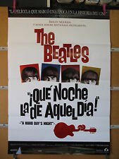 A376         QUE NOCHE LA DE AQUEL DIA THE BEATLES