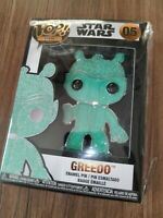 "Funko Pop! Pin Star Wars - #05 Greedo CHASE - Jumbo 4"" - Rare 1/12"