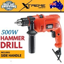 New 500W Hammer Drill Variable Speed Corded 13mm Power Tool Drilling Masonry