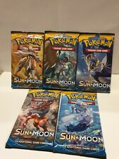 Sun And Moon Base Pack Art Set (5 Boosters)! Pokemon