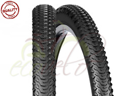 2 COPERTONI MTB 26 X 2.00 BICICLETTA 50-559 PER MOUNTAIN BIKE COUNTRY PNEUMATICI