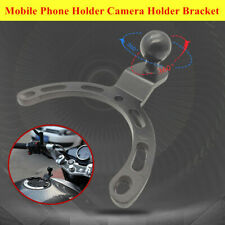 Universal Motorcycle Scooter Tank Cover Mobile Phone Holder Camera Fixed Bracket