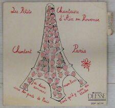 Les Petits Chanteurs d'Aix en Provence chantent Paris 45 tours
