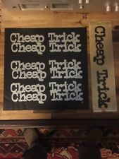 Cheap Trick Budokan Insert And Wrap Only
