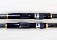 1x High Strength Carbon Fiber Fishing Rod Telescopic Rock Pole Tackle 3.6-5.4m