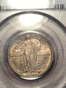 PCGS MS63FH 1924 STANDING LIBERTY QUARTER VERY CRISP AND BEAUTIFUL